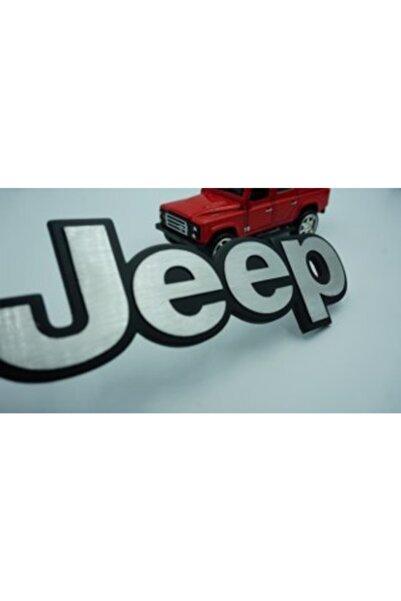 Jeep Kaput Bagaj 3m 3d Spor Versiyon Yazı Logo Amblem