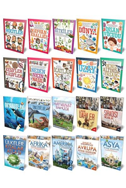 Halk Kitabevi İlk Kütüphanem ve İlk Bilgilerim 20 Kitap