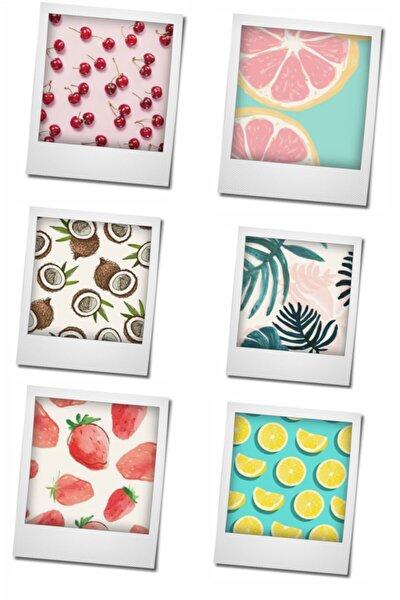 Express Magnet Buzdolabı Magneti 6'lı Meyve Serisi