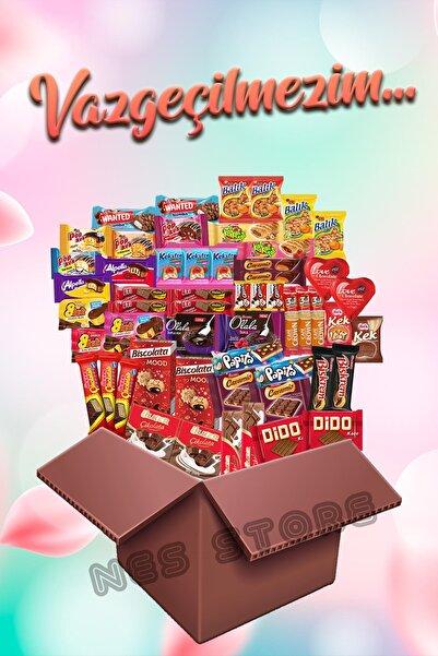 Ülker Vazgeçilmezim Çikolata Kek Atıştırmalık Paketi 55-parça