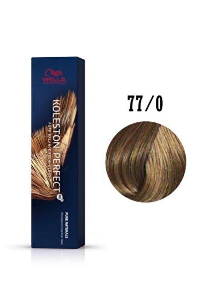Wella Orta Kumral Perfect Saç Boyası Me+ 77/0 60 ml