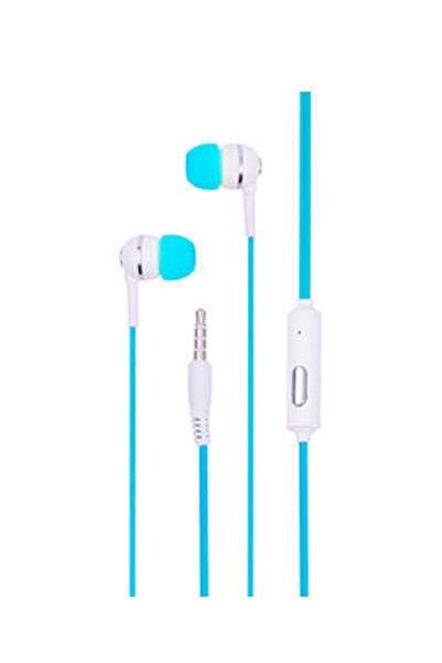 Syrox K7 Mikrofonlu Kulaklık 3.5 Jack Girişli Mavi