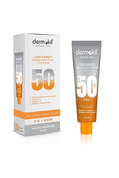 Dermokil Güneş Koruyucu Yüz Kremi 50+ 50 ml