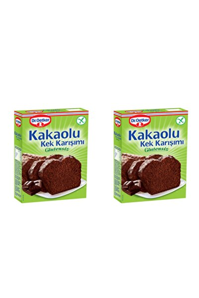 Dr. Oetker Glutensiz Kakaolu Kek Karışımı 2'li Paket