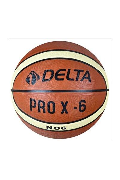 Delta Pro X Deluxe Kauçuk 6 Numara Basketbol Topu