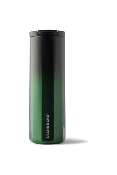 Starbucks Siyah-yeşil Renk Geçişli Termos 473 ml