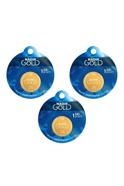 Nadir Gold 3 Adet 1 gr 24 Ayar Gram