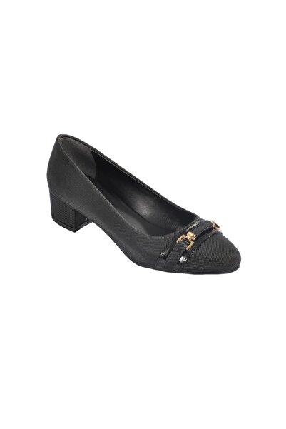 Maje 6067 Siyah Kadın Topuklu Ayakkabı