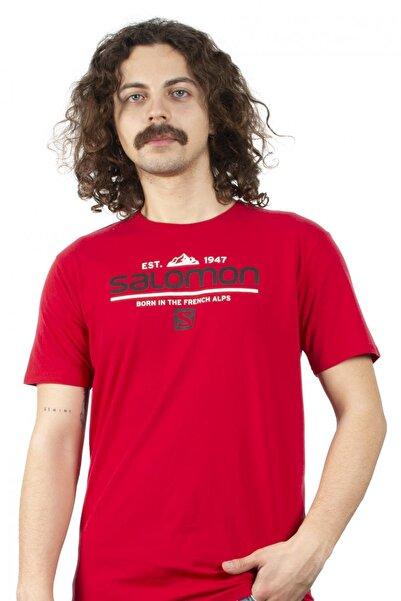 Salomon Erkek S20mwraıth Wraith Ss Tee Kırmızı Tshirt