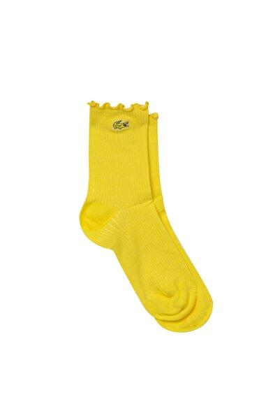 Lacoste Kadın Uzun Sarı Çorap RA0107