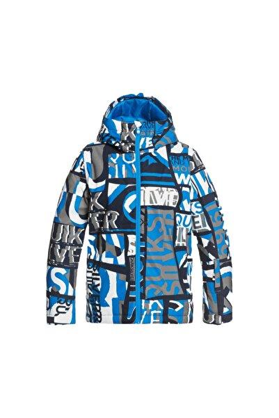 Quiksilver Unisex Çocuk Mavi Mission  Snowboard Montu