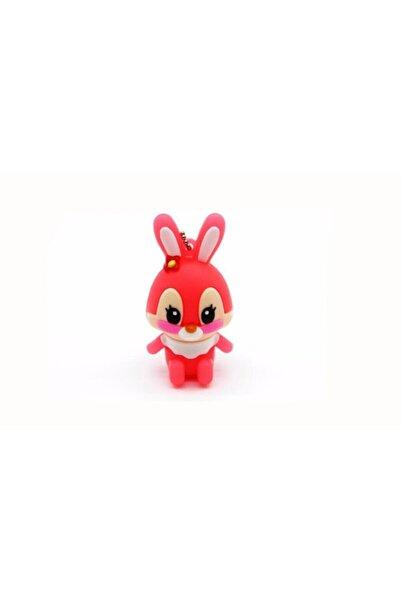 JASTER Pembe Tavşan Figürlü Usb Flash Bellek 64 gb