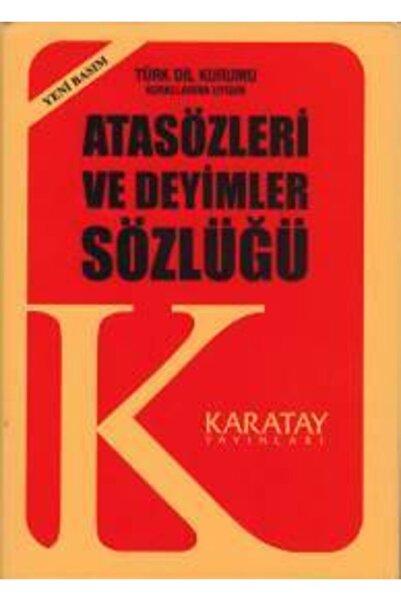 Karatay Yayınları Atasözleri ve Deyimler Sözlüğü Plastik Kapak