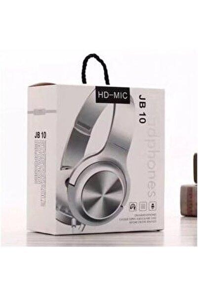- Jb10 Mikrofonlu Kulak Üstü Kulaklık Hd-mic 3.5mm Aux Girişli