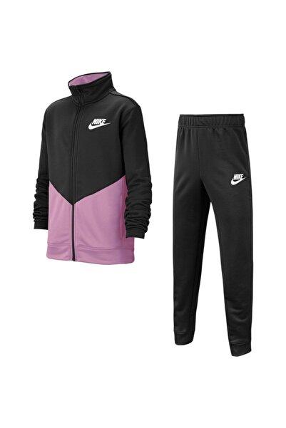 Nike Unisex Pembe Siyah B Nsw Core Trk Ste Ply Futura