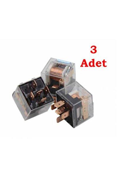 Redno Şeffaf 5 Uçlu Mini Üniversal Röle 40 Amper 12 Volt 3 Adet