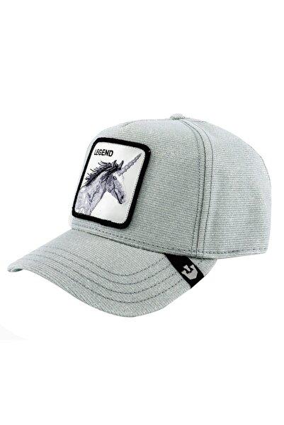 Goorin Bros Unisex Gümüş Rengi Believer Şapka 101-0506