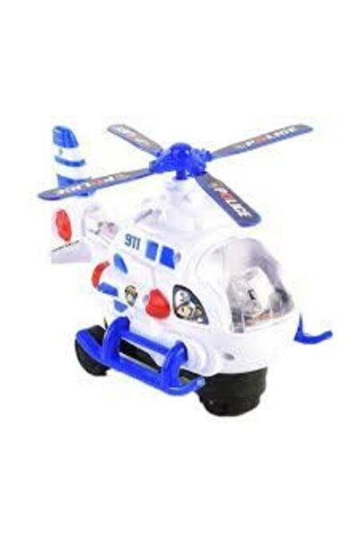 Happy Toys Hediyelik Sesli Işıklı Süper Polis Helikopter