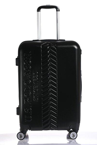 U.S POLO Plvlz8058-m Siyah Unısex Orta Boy Valiz