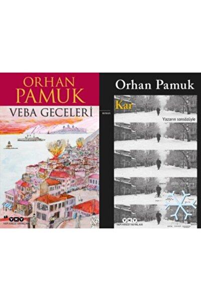 Yapı Kredi Yayınları Veba Geceleri - Kar Orhan Pamuk Set