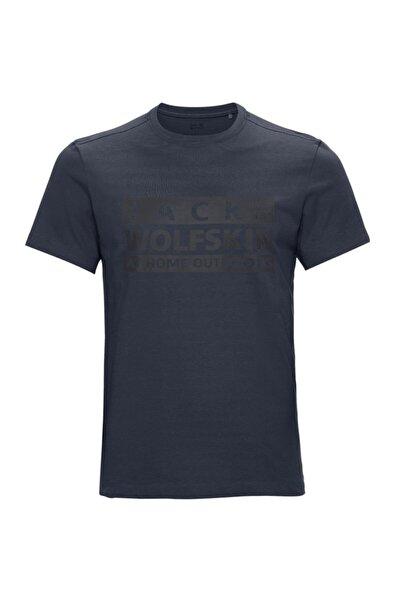 Jack Wolfskin Erkek  Brand T M T-shirt