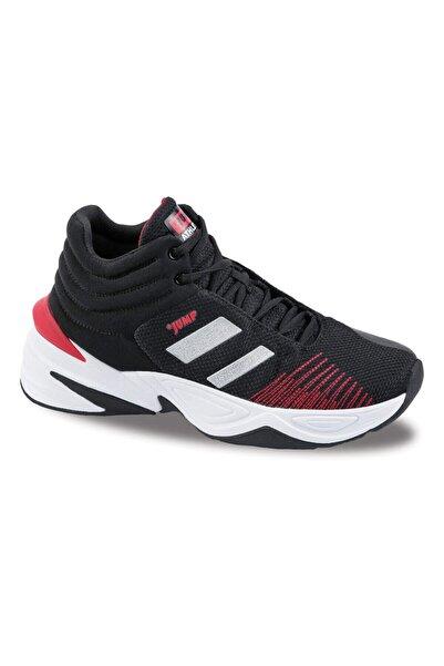 Jump Unisex Siyah Günlük Ortopedik Basketbol Spor Ayakkabısı