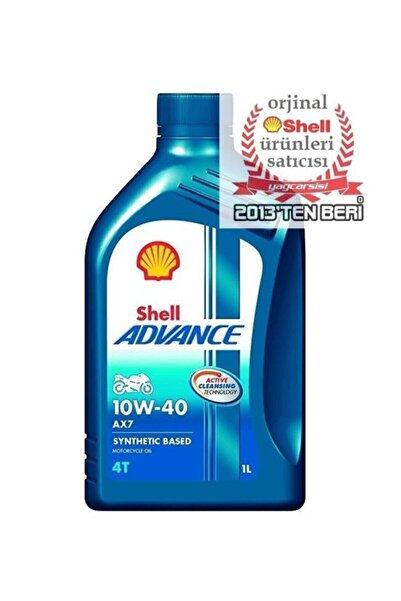 SHELL Advance 4t Ax7 10w40 1 Litre