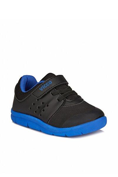 Vicco Mario Iı Hafif Unisex Ilk Adım Siyah Spor Ayakkabı