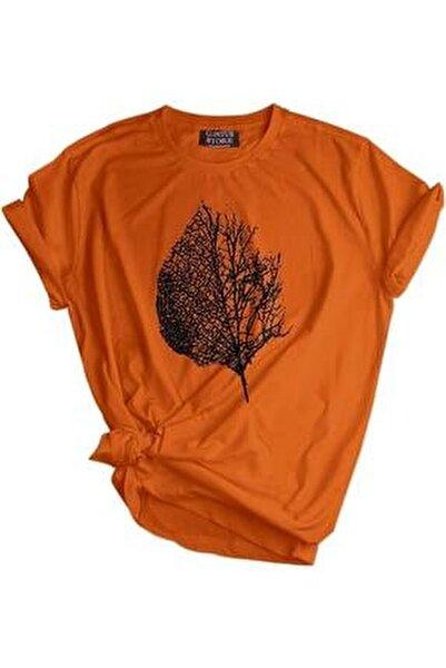 Store Unisex Baskılı Tişört Outdoor Normal Kalıp Tshirt