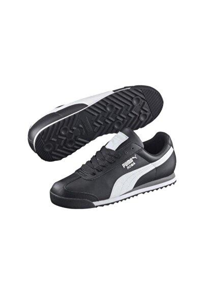 Puma Unisex Siyah Roma Basic Spor Ayakkabı