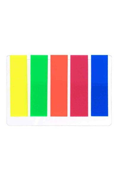 ALFA DEFTER Floresan Renk Kendinden Yapışkanlı Ayraç-post It