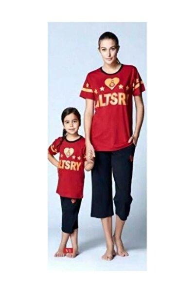 GSStore Galatasaray Kadın Pijama Takım Lisanslı 8276