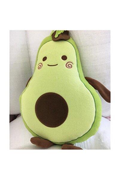 Köstebek Avokado Emoji Yastık 48 cm