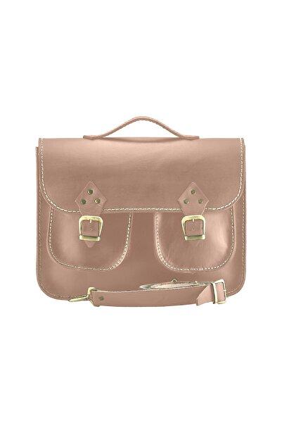 Shaman's Leather 13 İnç Çift Cep Laptop Çantası