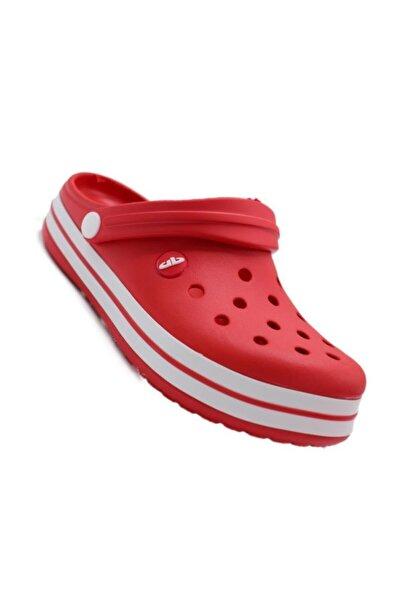 Akınal Bella Z1195 Kırmızı Kadın Sandalet/terlik