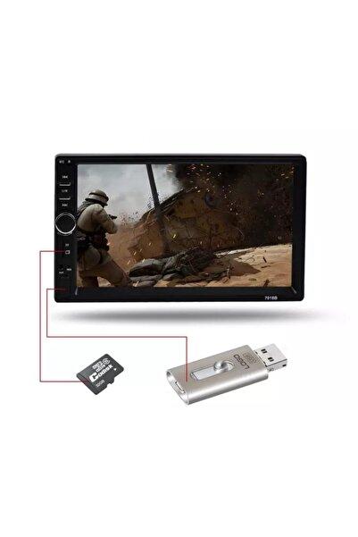 Kingwin Oto Teyp 7 Inc Double Teyp +geri Park Kamerası Mp5 Kıngwın