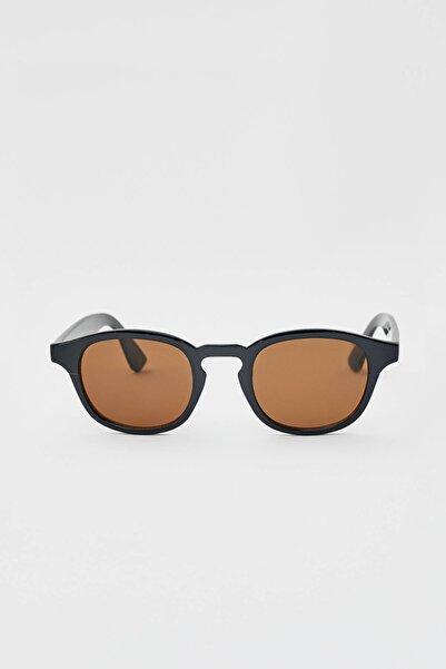 Pull & Bear Erkek Siyah Siyah Epoksi Güneş Gözlüğü 09992501