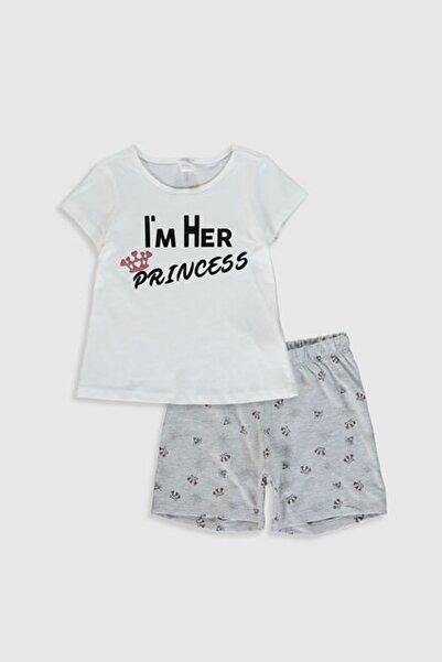 LC Waikiki Kız Çocuk Fdu Pijama Takımı
