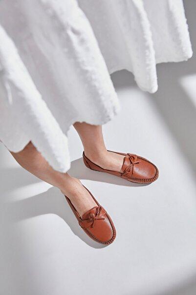 Yaya  by Hotiç Taba Kadın Loafer Ayakkabı 01AYY600810A370