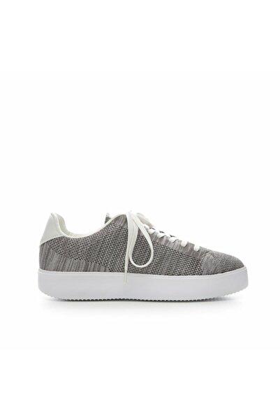 Yargıcı Kadın Açık Gri Kumaş Spor Ayakkabı 7YKAY4044X