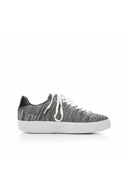 Yargıcı Kadın Koyu Gri Kumaş Spor Ayakkabı 7YKAY4045X