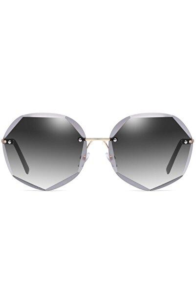 Vintage Bayan Güneş Gözlüğü Yuvarlak Gözlük