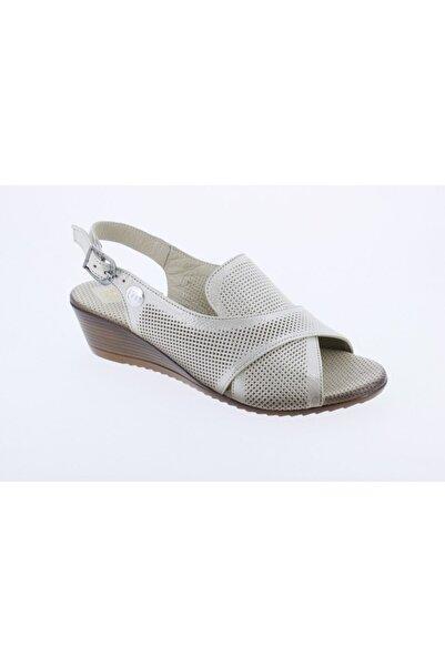 Mammamia Kadın Bej  Sandalet D20ys-1200-b