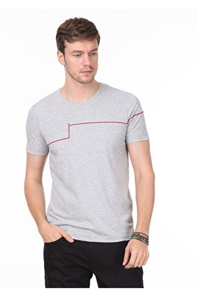 Ramsey Erkek Açık Gri Örme T - Shirt RP10119988