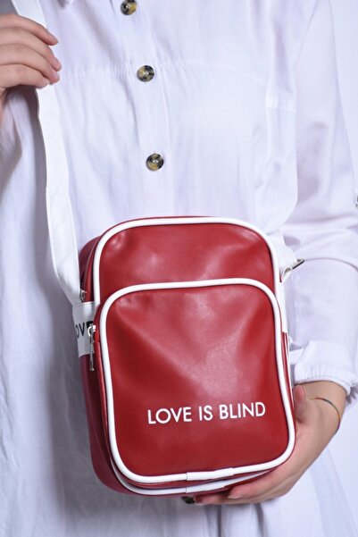 Soobepark Koza Love Is Blind Kırmızı Çanta
