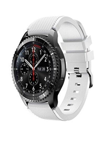 Huawei Watch Gt2 46mm Sport Kordon Silikon Beyaz