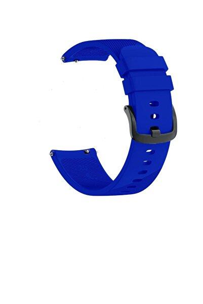 TahTicMer Huawei Watch Gt2 46mm Sport Kordon Silikon Koyu Mavi