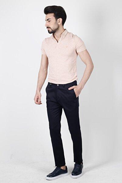 Jakamen Lacivert Extra Slim Fit Yan Cep Pantolon - JK29ES12M012_019