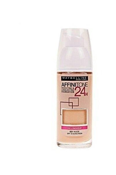 Maybelline New York Affinitone 24h Foundation 21 Nude
