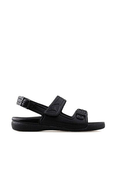 Kadın Siyah Sandalet 1300-4-SIYAH-K